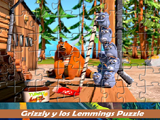 Grizzy and the Lemmings Puzzle