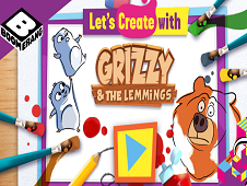 Let's Create with Grizzy and the Lemmings