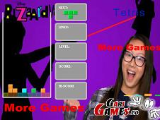 Bizaardvark Tetris Game 2