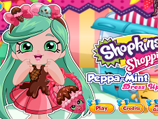 Shopkins Shoppies Peppa Mint Dress Up