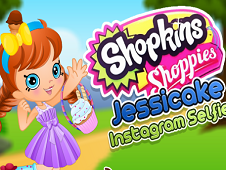 Shopkins Shoppies Jessicake Instagram Selfie