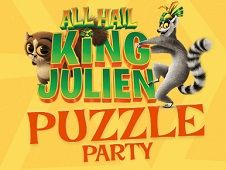 King Julien Puzzle Party