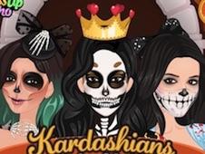 Kardashians Spooky Make Up