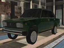 Lada Russian Car Drift