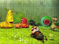 Larva Characters Puzzle
