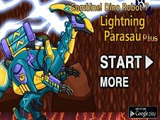 Dino Robot Lighting Parasau