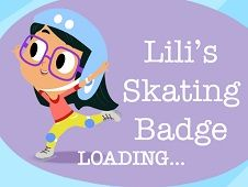 Lili Skating Badge