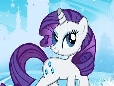 Little Pony Rarity Dress Up
