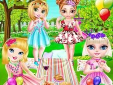 Little Princesses Park Party