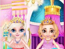 Little Sisters Princess Dress Up