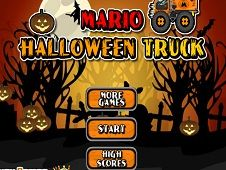 Mario Halloween Truck