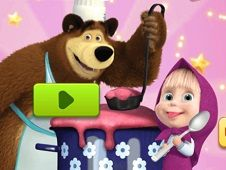 Masha and the Bear Cooking Dash