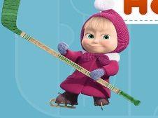 Masha and the Bear Hockey