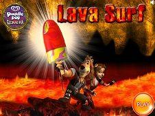 Max Paddle Pop Lava Surfer