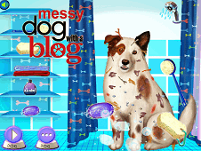 Messy Dog With a Blog