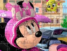 Mickey Mouse and the Roadster Racers Characters Puzzle