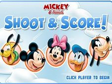 Mickey Mouse and Friends Shoot and Score