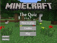 Minecraft the Quiz