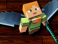 Mineacraft Flying Warrior