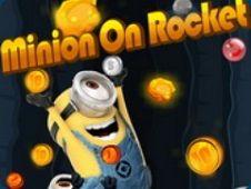 Minion on Rocket