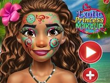 Exotic Princess Makeup