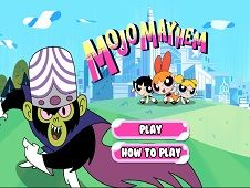 Powerpuff Girls Mojo Mayhem