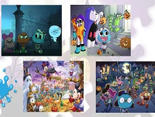 Monster Halloween Puzzle