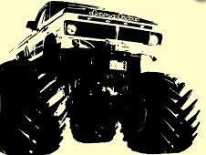Monster Truck Jigsaw Challenge