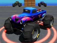 Monster Truck Port Stunt