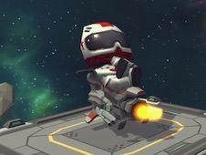 Moto Space Racing 2 Player