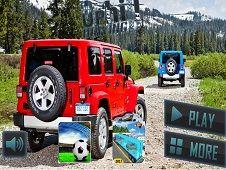 Mountain Climb Passenger Jeep Simulator