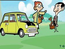 Mr Bean Car Hidden Letters