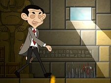 Mr Bean Lost in the Maze