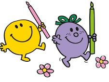 Mr Men Coloring Book