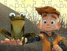 My Knight and Me Puzzle