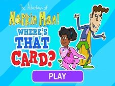Adventures of Napkin Man Wheres the Card