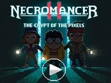 Necromancer Crypt of Pixels