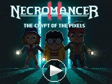 Necromancer Crypt of Pixels