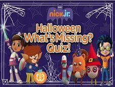 Halloween Whats Missing Quiz