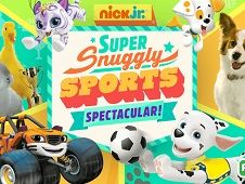 Nick Jr Snuggly Sports Spectacular