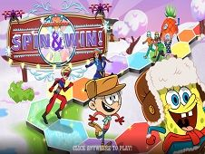 Nickelodeon Winter Spin and Win