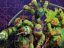 Ninja Turtles Fighting