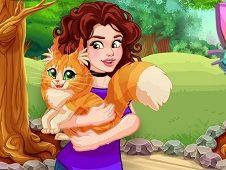 Olivia Adopts a Cat