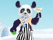 Panda Lounger Dress Up
