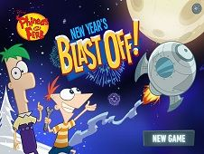 Phineas and Ferb New Years Blast Off
