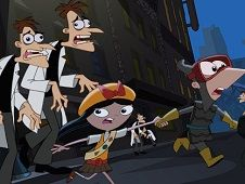 Phineas and Ferb the Walking Doof