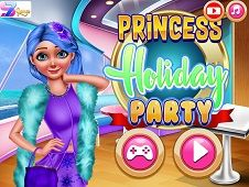 Princess Holiday Party