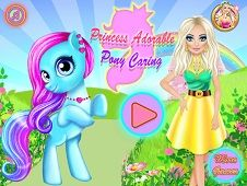 Princess Adorable Pony Care