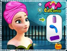 Princess Anna Halloween Makeover
