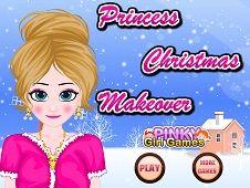 Princess Christmas Makeover